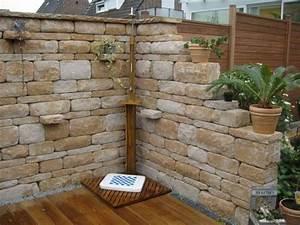 Gartengestaltung Toskana Stil : steinmauer garten mediterran garten und bauen ~ Articles-book.com Haus und Dekorationen