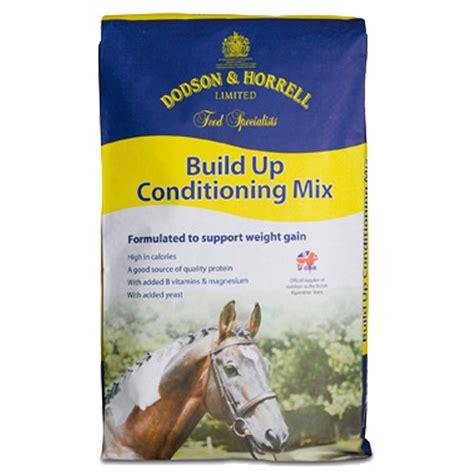 dodson horrell futter build  conditioning mix fuer pferde