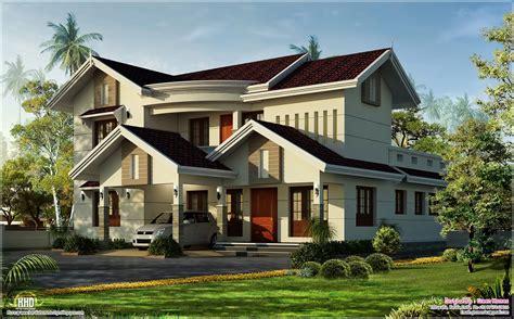 Beautiful Villa In 2500 Sqfeet  Kerala Home Design And
