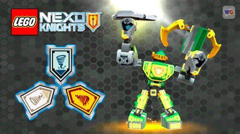 All Nexo Knights Scannable Shields