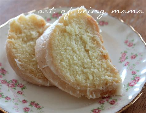 lemon pound cake the art of being mama august 2012