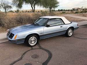 83 Ford Mustang GLX convertible one Owner In excellent shape for sale - Ford Mustang Mustang ...