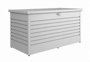 Biohort Freizeitbox 160 : biohort freizeitbox 160 high aufbewahrungsbox 160x79x83cm silber metallic kaufen ~ Orissabook.com Haus und Dekorationen