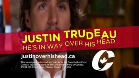 3 new conservative tv ads attack justin trudeau