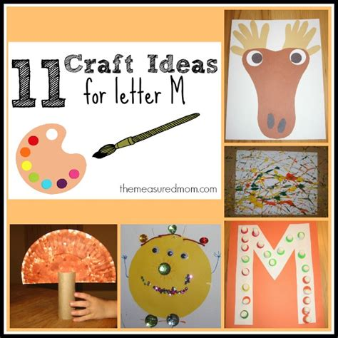 letter m crafts for preschoolers the measured 411 | letter m crafts