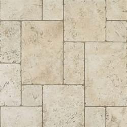 tumbled travertine floor versailles pattern basement bathroom backyards