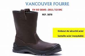 Botte De Securite Fourree Timberland : botte de s curit fourr e vancouver s3 baudou chaussures pro ~ Melissatoandfro.com Idées de Décoration