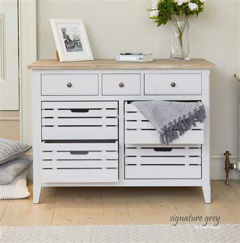 Grey Sideboard by Signature Grey Sideboard Servery Compact Sideboard