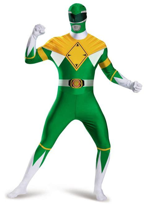 power rangers green ranger men bodysuit costume