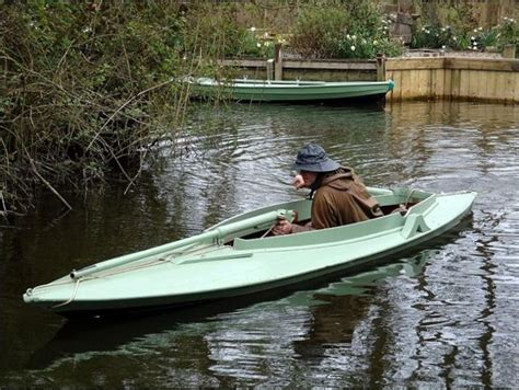 Punt Gun On Boat by Filming With Nigel Royall And His Traditional Norfolk Gun
