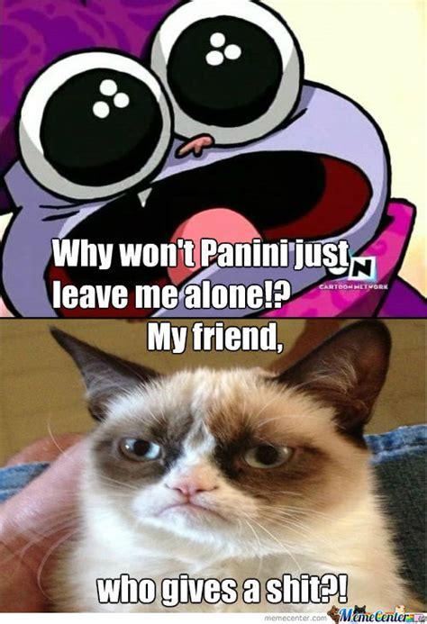 Chowder Memes - grumpy cat vs chowder by kyrene meme center