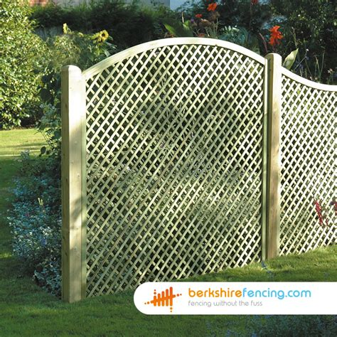 5 Foot Trellis Panels by Convex Trellis Fence Panels 5ft X 6ft Brown