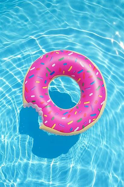 Pool Floats Donut Iphone Wallpapers Float Backgrounds