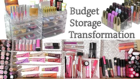 Transformation Budget by Budget Makeup Storage Transformation Collection 2016