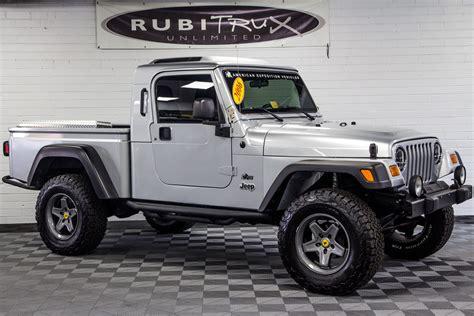 jeep rubicon silver pre owned 2006 jeep wrangler rubicon brute conversion silver