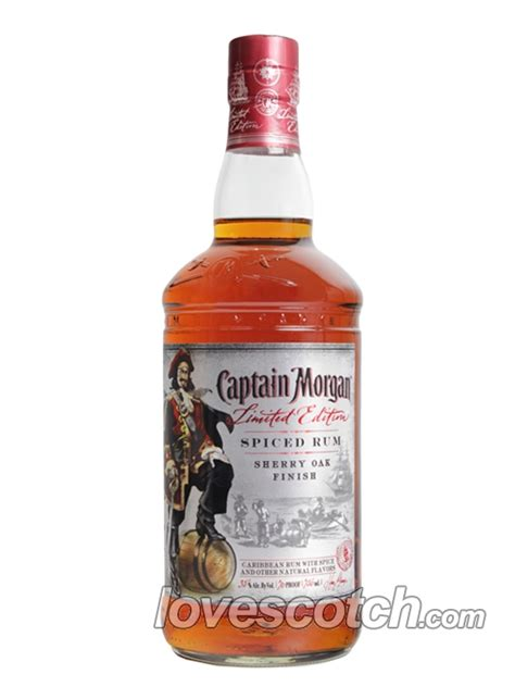 Captain Morgan Spiced Rum Limited Edition Sherry Oak