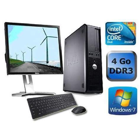 ordinateur de bureau windows 7 occasion pc de bureau windows 7 d 39 occasion