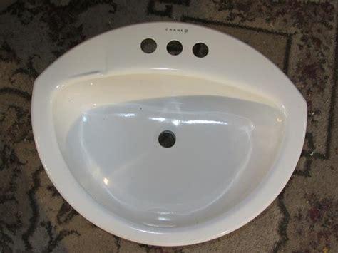 crane tubs crane coronette bathroom sink 21 quot x 17 quot enameled steel