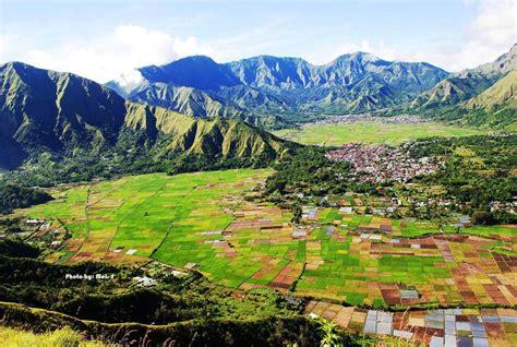 bukit pergasingan sembalun puncak terbaik lombok  tak