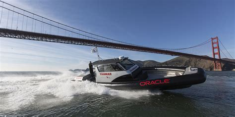 Oracle Boat by Yanmar Signs On With Oracle Team Usa Power Equipment