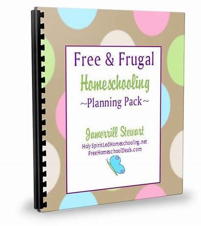 Homeschool Planning Planner Homeschooling Planners Frugal Pack