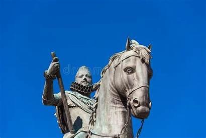 Philip Statue Iii Madrid Equestrian King Spain