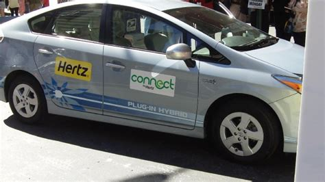 Hertz To Launch Electriccar Rentals In Nyc, Add Smart To