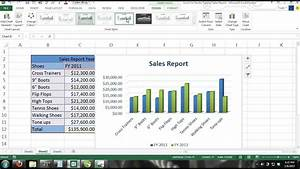 Microsoft Excel Tutorial For Beginners 13 Charts 3d