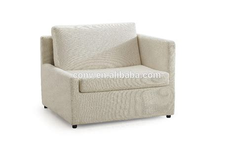 foldable mechanism single seat country style sofa bed