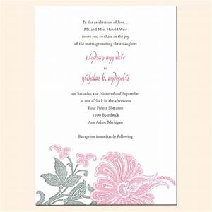 Sample wedding invitation wording uk image collections for Examples of wedding invitation wording uk