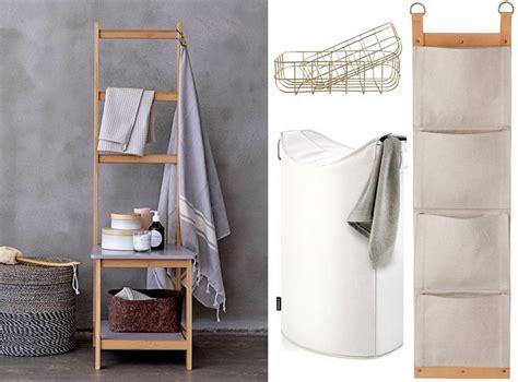 chaise porte serviette rangements malins pour la salle de bains joli place