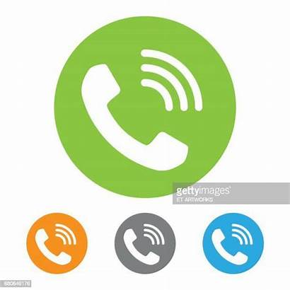 Telephone Icon Receiver Illustrations Call Vector Clipart