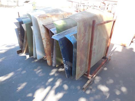 huge assortment  rust  gm deck lids