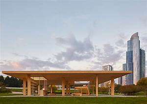 Chicago Biennial Scores Winning CLT Wood Structure