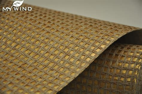 gold wall paper grasscloth wallcovering home natural