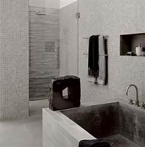 bathroom design ideas modern bathroom design small With carrelage salle de bain blanc brillant