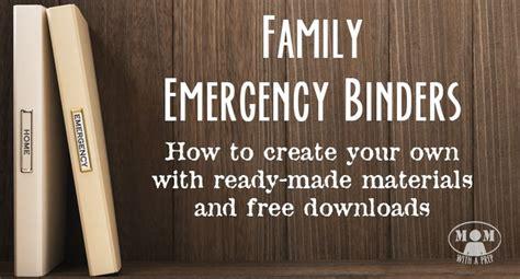 ideas  family emergency binder  pinterest