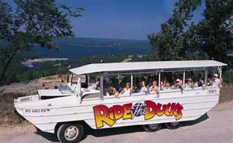 Duck Boat Tours Branson by Summer Cool Ride At Ride The Ducks