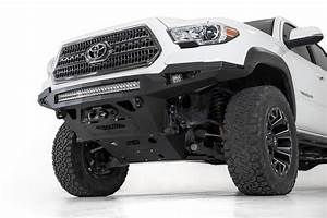 Fairlead Light Bar Mount 2016 2020 Toyota Tacoma Stealth Fighter Winch Front Bumper