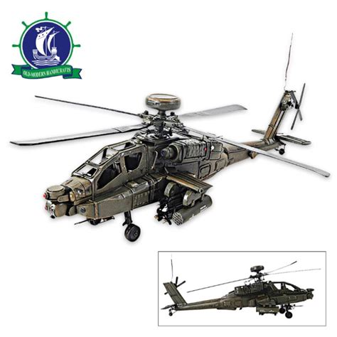 1976 Boeing Ah-64 Apache Attack Helicopter