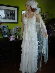 1920s flapper downton abbey boardwalk empire wedding dress With flapper style wedding dress