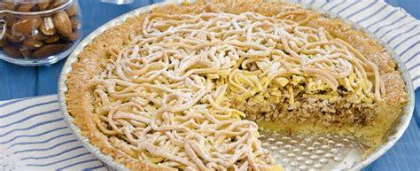 Torta Tagliatelle Mantovana ricetta torta di tagliatelle agrodolce