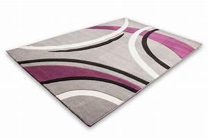 tapis salon mauve bricolage maison With tapis violet et gris
