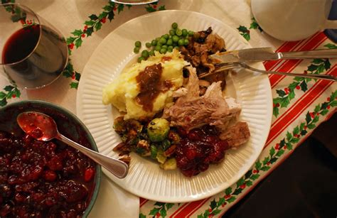 christmas dinner with julie