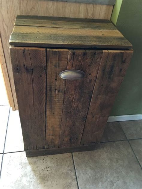 Kitchen Garbage Cans Sale by 25 Best Ideas About Wooden Trash Can Holder On