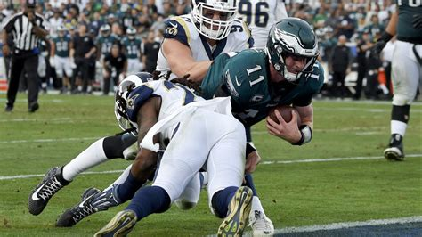 carson wentzs injury devastating  philadelphia eagles