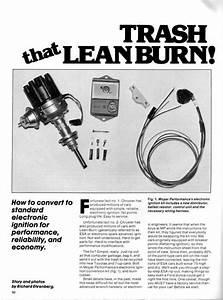 Lean Burn Conversion 101