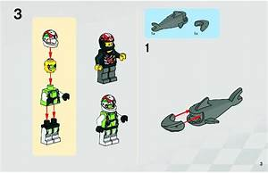 Lego 8897 Jagged Jaw Reef Instructions  World Racers