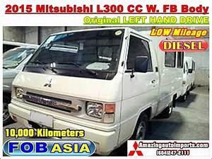 2015 Mitsubishi L300 Cc W  Fb Body Opt Lhd 10 000 Km