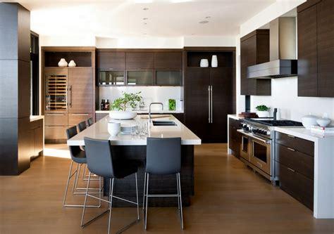 grande cuisine moderne prestigieuse maison moderne avec vue sur la mer à vancouver vivons maison